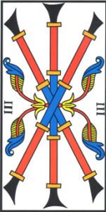 Tre di Bastoni di Jodorowsky - Camoin