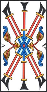 Cinque di Bastoni di Jodorowsky - Camoin