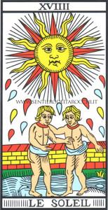 Il Sole dei Tarocchi di Marsiglia di Jodorowsky - Camoin